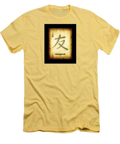 Friendship  Men's T-Shirt (Slim Fit) by John Wills