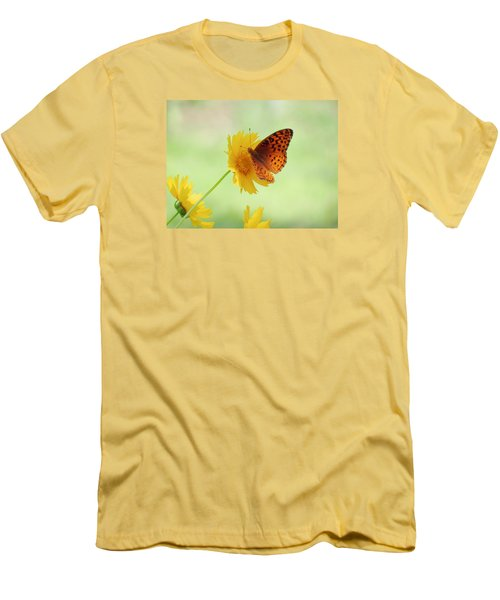 Fritillary Fun Men's T-Shirt (Athletic Fit)