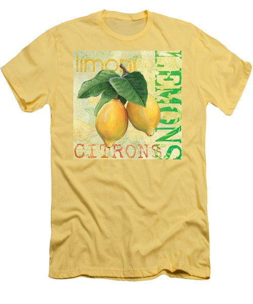 Froyo Lemon Men's T-Shirt (Athletic Fit)