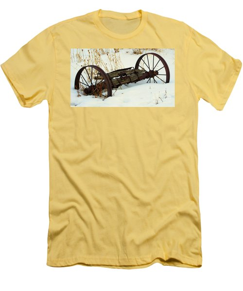 Frozen In Time Men's T-Shirt (Slim Fit) by Janice Westerberg