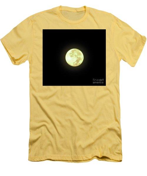 Full Moon August 2014 Men's T-Shirt (Slim Fit) by D Hackett