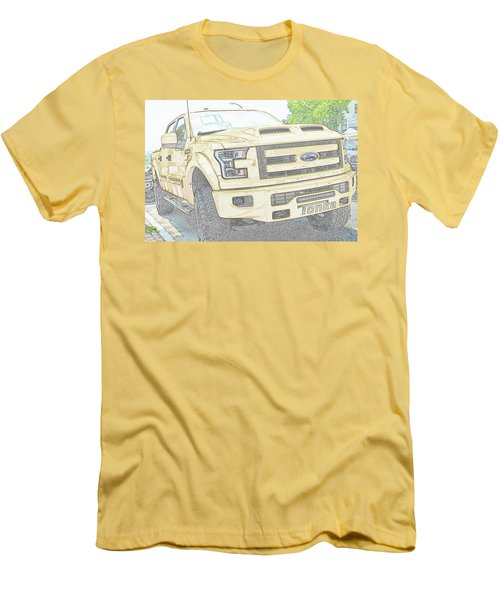 Men's T-Shirt (Athletic Fit) featuring the photograph Full Sized Toy Truck by John Schneider