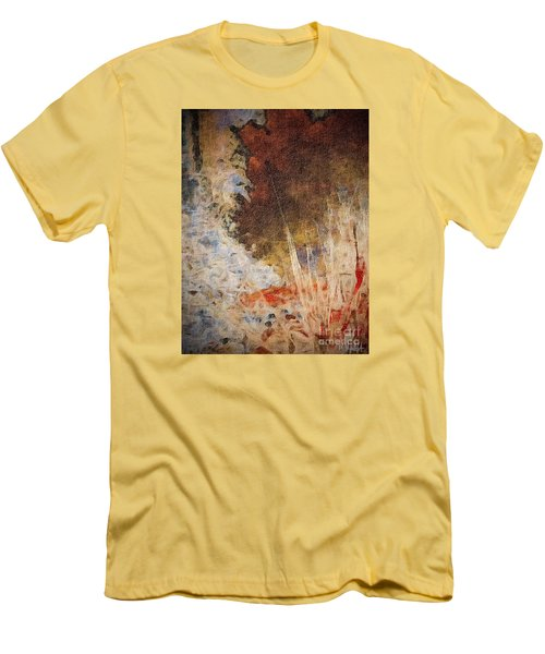 Men's T-Shirt (Slim Fit) featuring the photograph Fun By The Lake by William Wyckoff