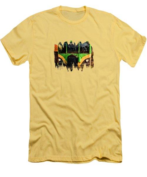 Galloping Goose Men's T-Shirt (Slim Fit) by Thom Zehrfeld