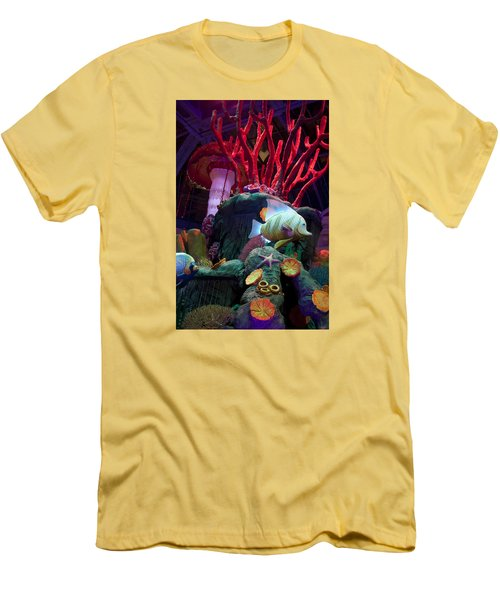 Garden Decoration Men's T-Shirt (Slim Fit) by Ivete Basso Photography