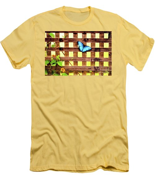 Garden Fence Men's T-Shirt (Athletic Fit)