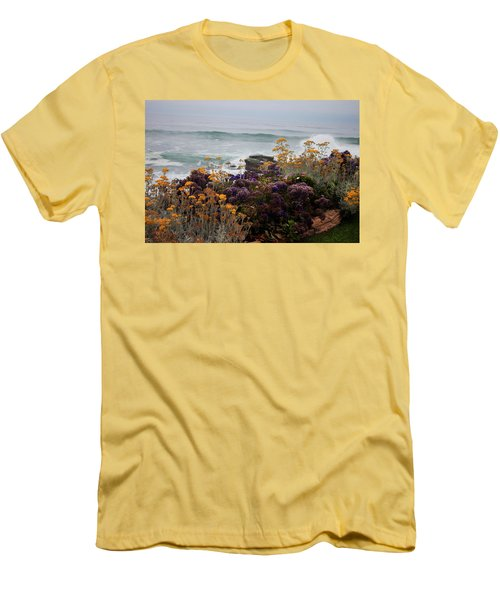 Garden View Men's T-Shirt (Slim Fit) by Ivete Basso Photography