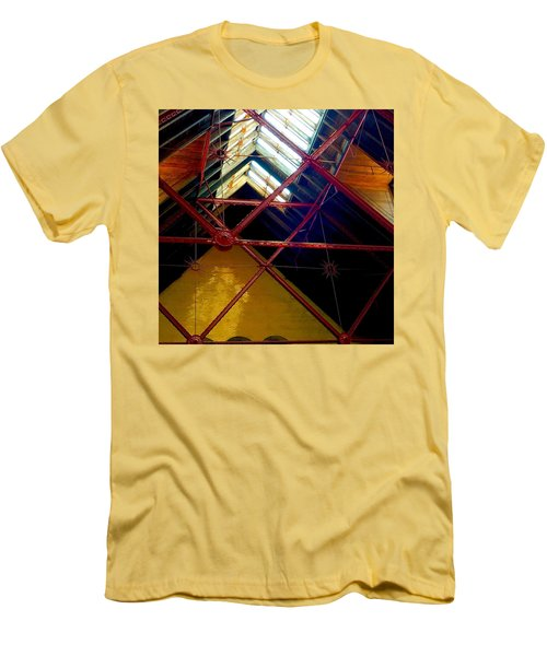 Geometric And Suns  Men's T-Shirt (Athletic Fit)