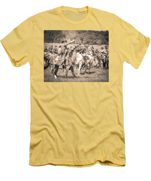 Gettysburg  Union Cavalry 7920s  Men's T-Shirt (Athletic Fit)