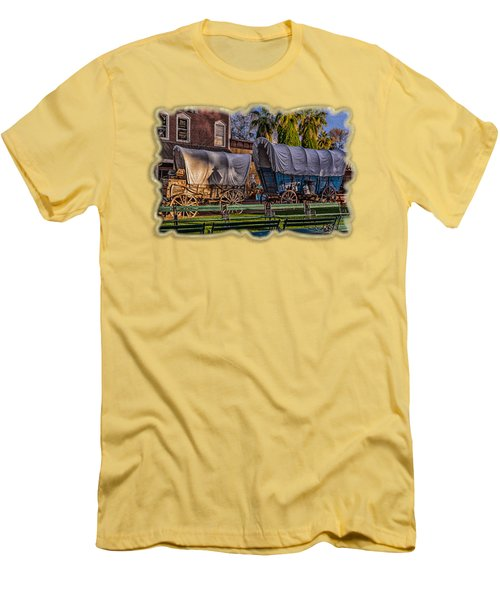 Ghost Of Old West No.2 Men's T-Shirt (Athletic Fit)