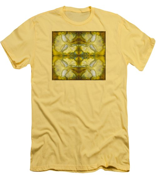 Men's T-Shirt (Athletic Fit) featuring the photograph Gingko Quad by Joye Ardyn Durham