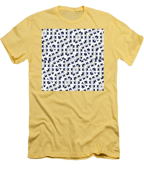 Giraffe Abstract 02 Men's T-Shirt (Athletic Fit)