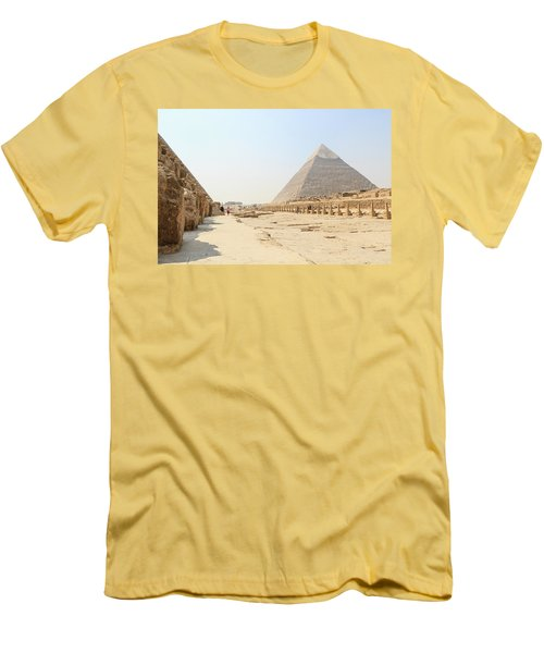 Men's T-Shirt (Athletic Fit) featuring the photograph Giza by Silvia Bruno