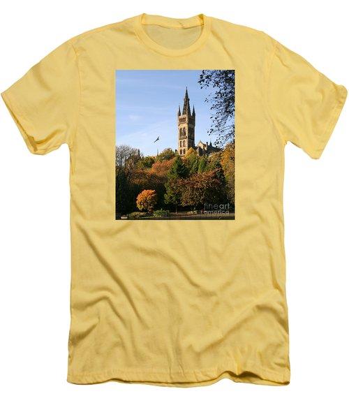 Glasgow University Men's T-Shirt (Slim Fit) by Liz Leyden