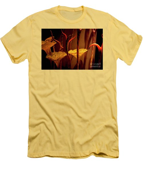 Glass Art Men's T-Shirt (Slim Fit) by Ivete Basso Photography