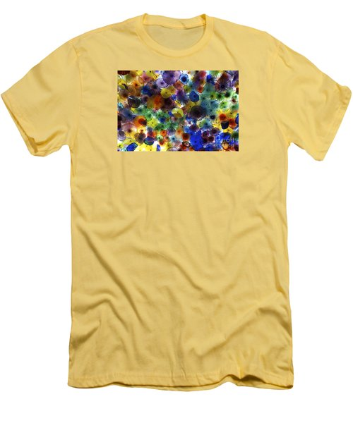 Men's T-Shirt (Slim Fit) featuring the photograph Glass Ceiling by Sandy Molinaro