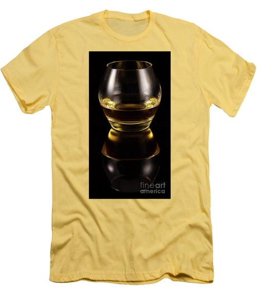 Glass Of Whiskey Men's T-Shirt (Athletic Fit)