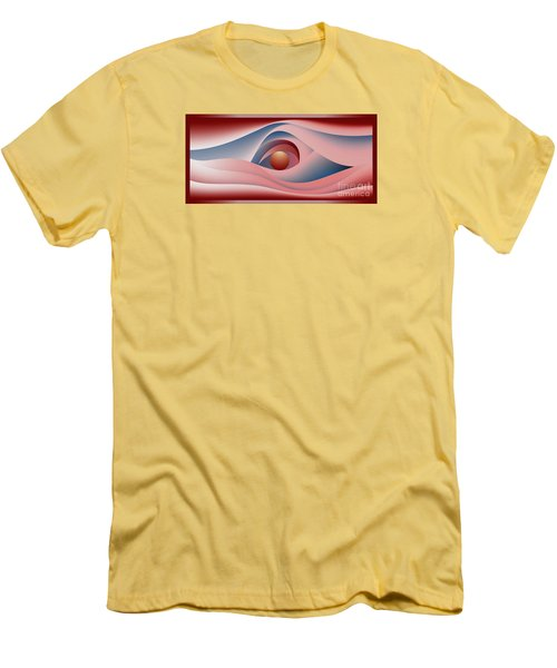 Glow Over The Sea Men's T-Shirt (Athletic Fit)