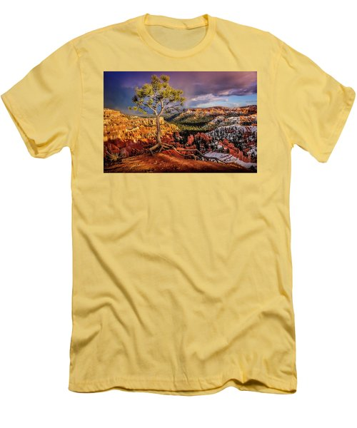 Gnarled Tree At Bryce Canyon Men's T-Shirt (Athletic Fit)