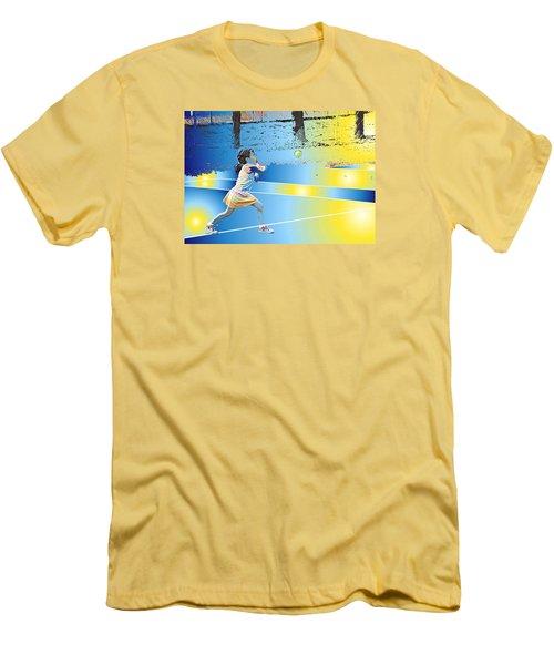 Go For It Men's T-Shirt (Athletic Fit)
