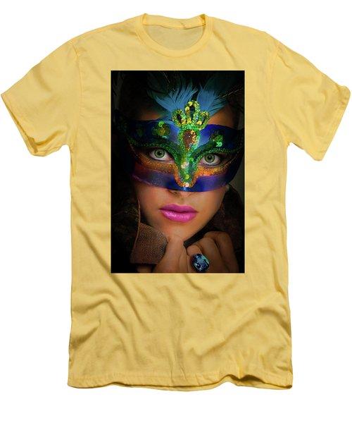 Goddess Men's T-Shirt (Slim Fit) by David Clanton