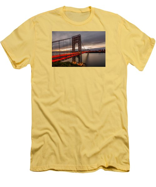 Men's T-Shirt (Slim Fit) featuring the photograph Gods Light  by Anthony Fields