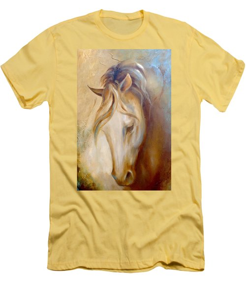 Gold Dust 2 Men's T-Shirt (Slim Fit) by Dina Dargo