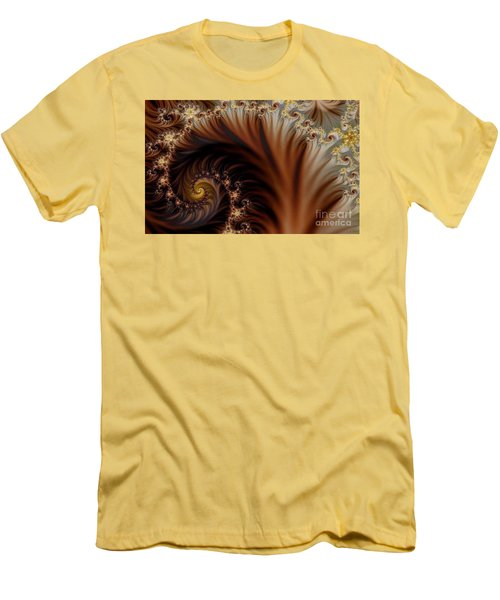 Gold In Them Hills Men's T-Shirt (Slim Fit) by Clayton Bruster