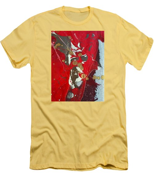 gold inhaling Jaffar Men's T-Shirt (Athletic Fit)