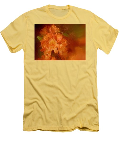 Gold Men's T-Shirt (Athletic Fit)