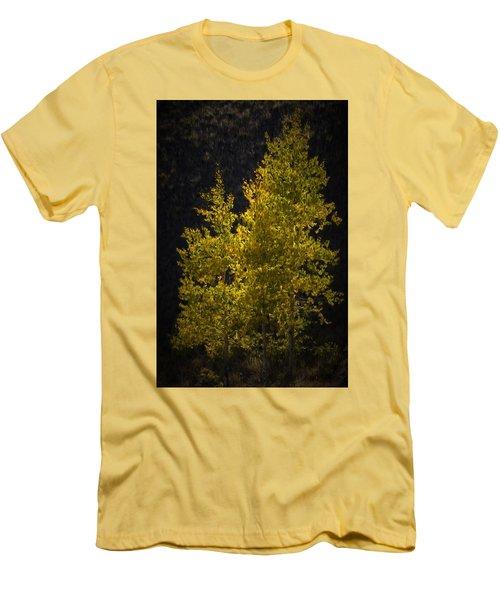 Golden Aspen Men's T-Shirt (Athletic Fit)