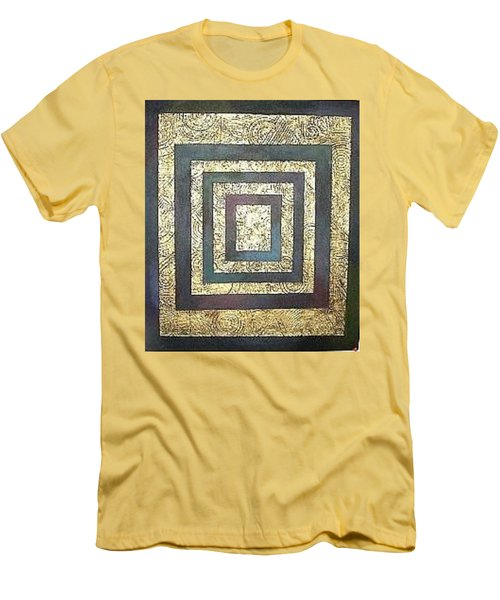 Golden Fortress Men's T-Shirt (Athletic Fit)