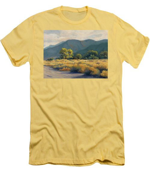 Golden Hour In Owen's Valley Men's T-Shirt (Athletic Fit)
