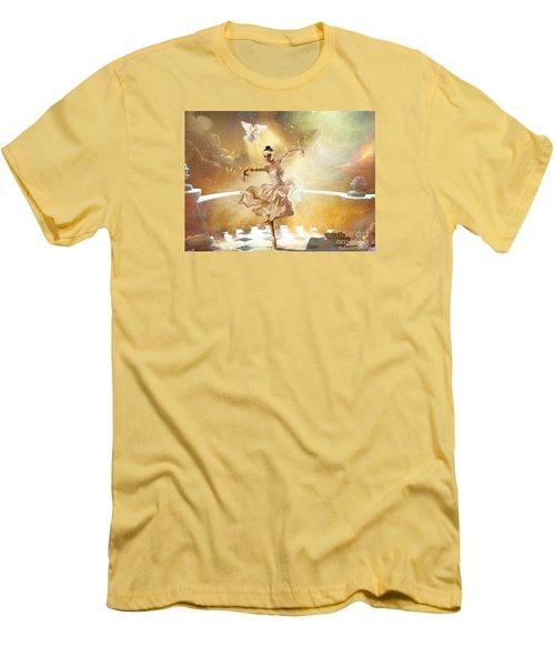 Golden Moments Men's T-Shirt (Slim Fit) by Dolores Develde