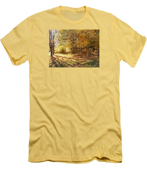Golden Stairway Men's T-Shirt (Athletic Fit)