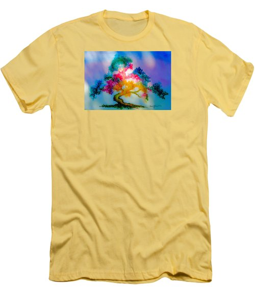 Da183 Golden Tree Daniel Adams Men's T-Shirt (Athletic Fit)