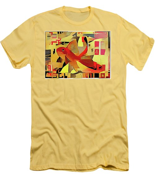 Goldfish #1 Men's T-Shirt (Athletic Fit)