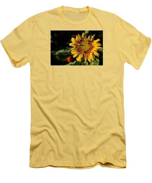 Good Morning Men's T-Shirt (Slim Fit) by Alana Thrower