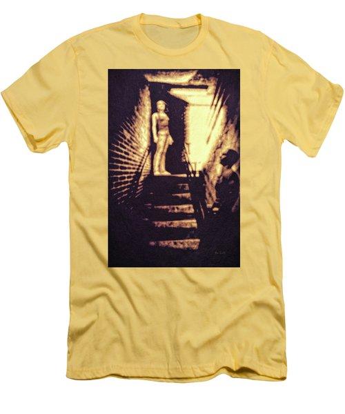Good Neighbors  Men's T-Shirt (Slim Fit) by Bob Orsillo