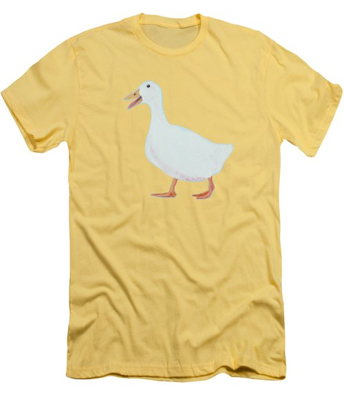 Goose Named Audrey Men's T-Shirt (Athletic Fit)