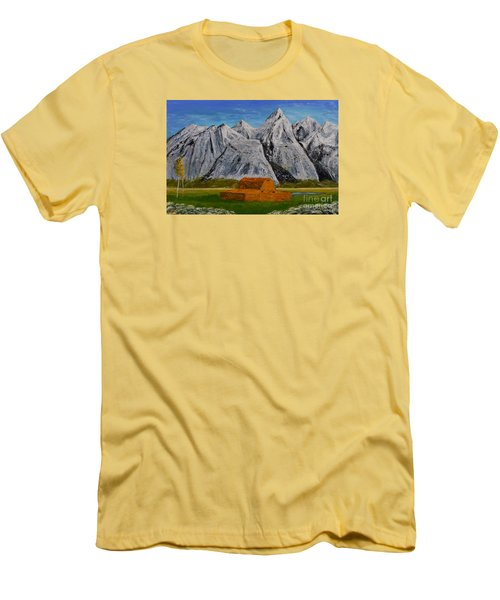 Grand Tetons Men's T-Shirt (Athletic Fit)
