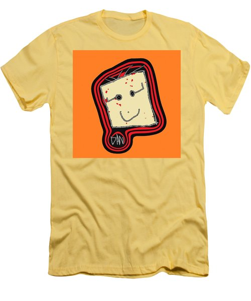 Grandpa 3 Men's T-Shirt (Slim Fit) by Andrew Drozdowicz
