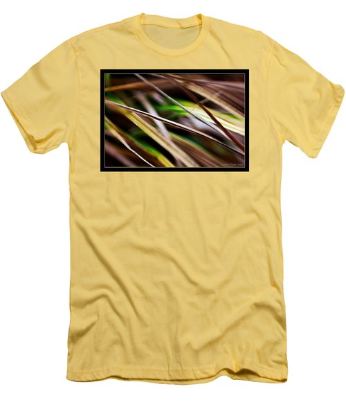 Grass Men's T-Shirt (Slim Fit) by Michaela Preston