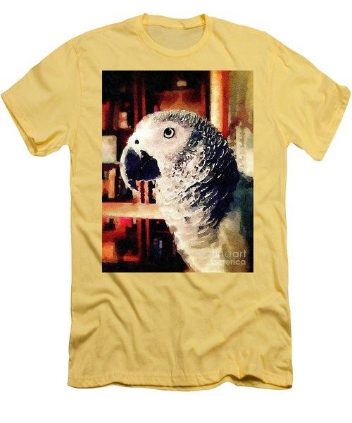 Gray Men's T-Shirt (Athletic Fit)