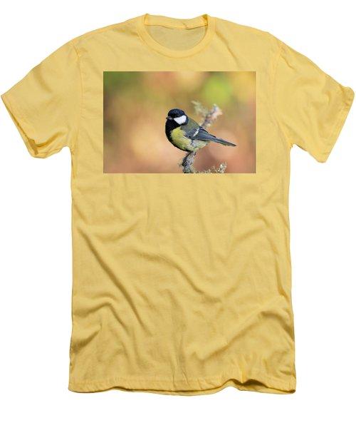 Great Tit - Parus Major Men's T-Shirt (Athletic Fit)