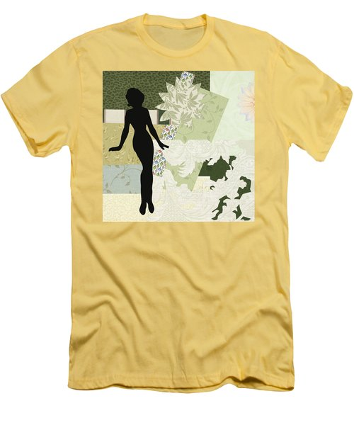 Green Paper Doll Men's T-Shirt (Athletic Fit)