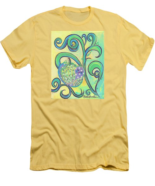 Greenbriar Birdy Men's T-Shirt (Slim Fit) by Shelley Overton