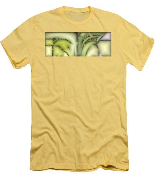Greens Men's T-Shirt (Slim Fit) by Ron Bissett