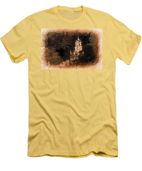 Grungy Todos Santos Men's T-Shirt (Athletic Fit)
