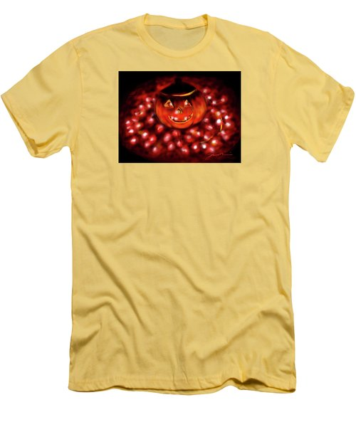 Halloween Lights Men's T-Shirt (Athletic Fit)